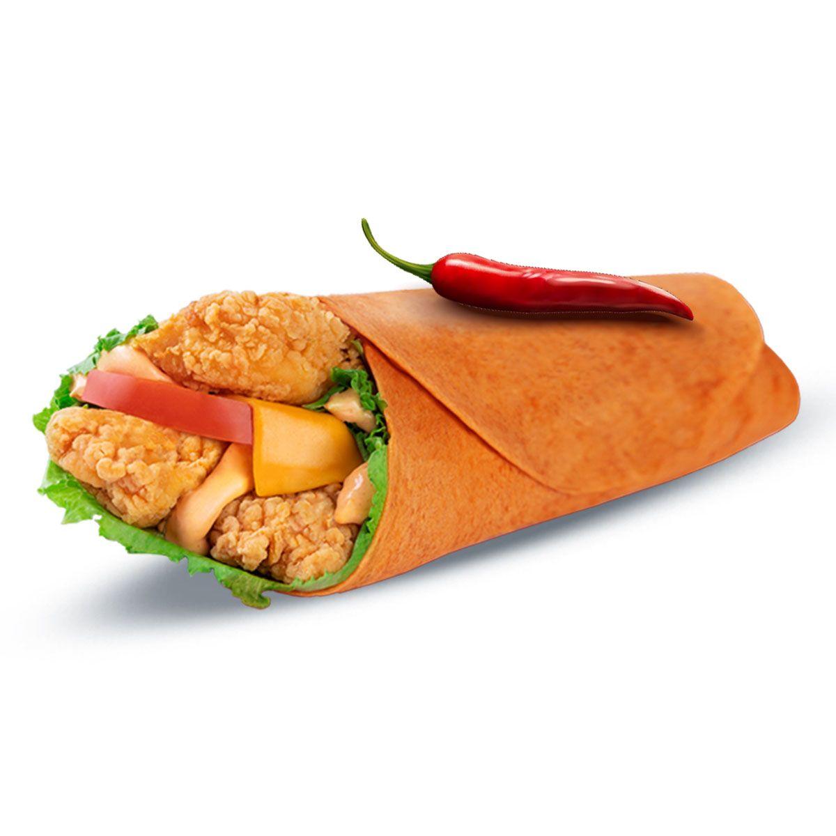 ساندوتش سبايسى كرسبى راب